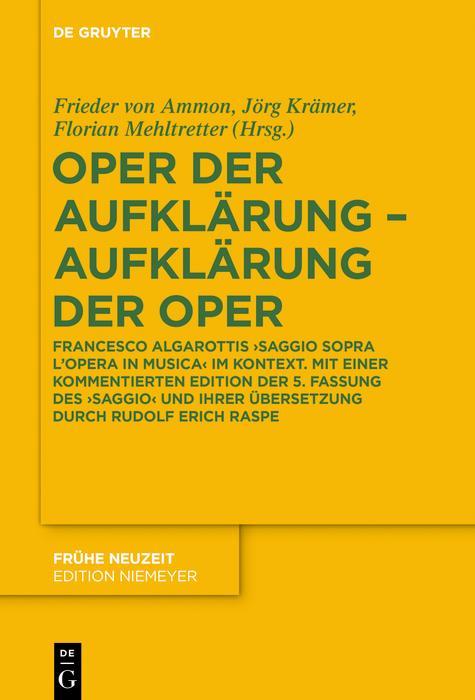 Oper der Aufklärung - Aufklärung der Oper als eBook epub