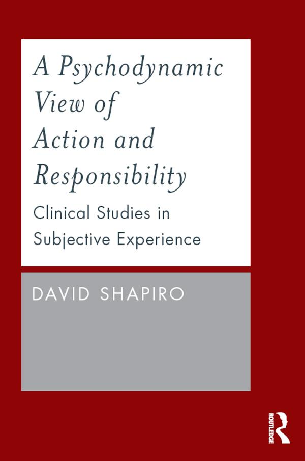 A Psychodynamic View of Action and Responsibility als eBook epub