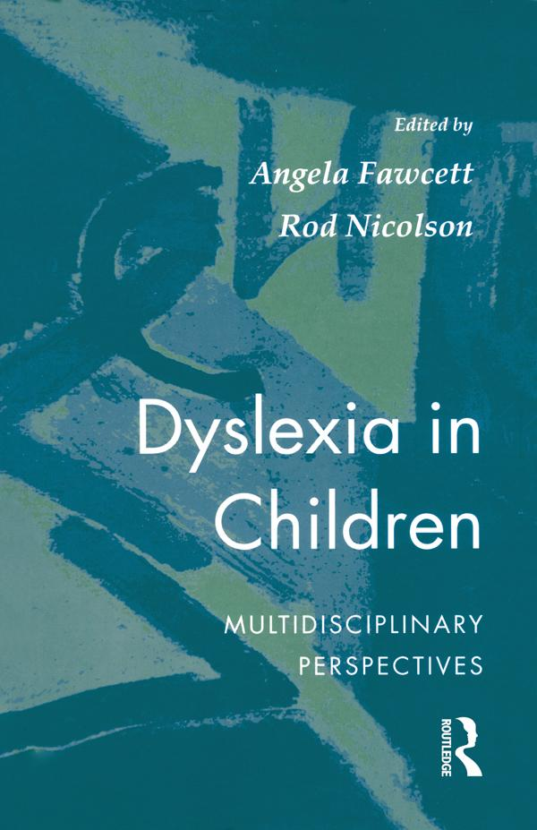 Dyslexia In Children als eBook epub