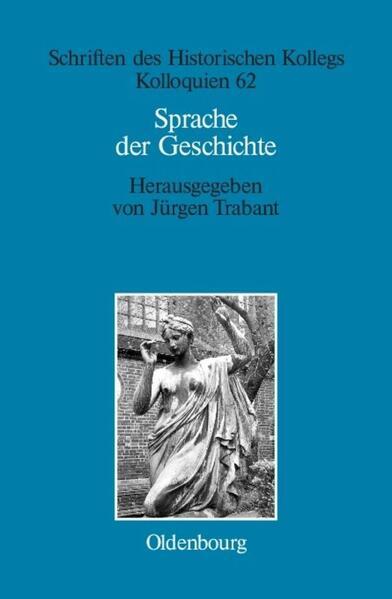 Sprache der Geschichte als Buch (gebunden)