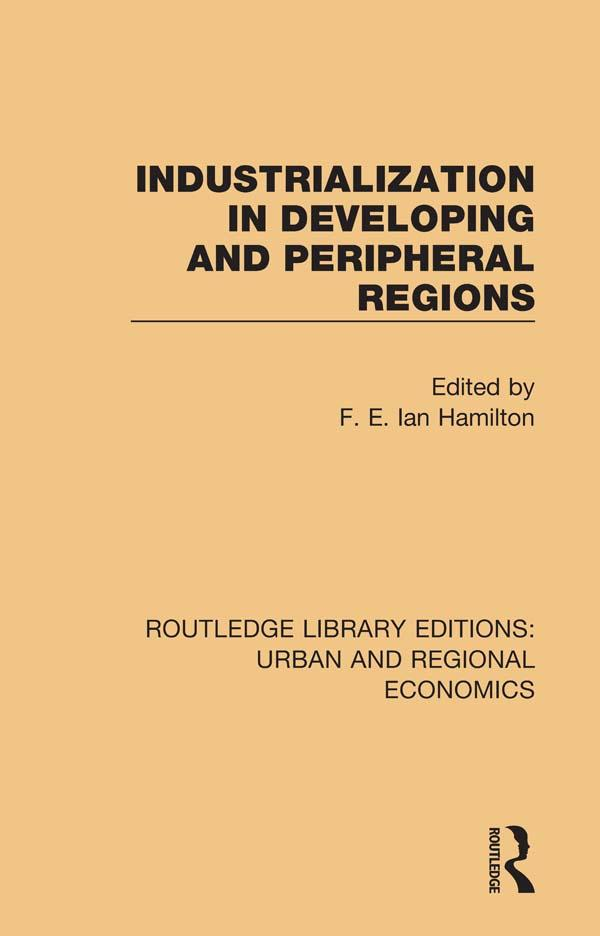 Industrialization in Developing and Peripheral Regions als eBook epub