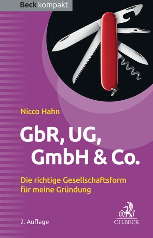 GbR, UG, GmbH & Co. als eBook epub