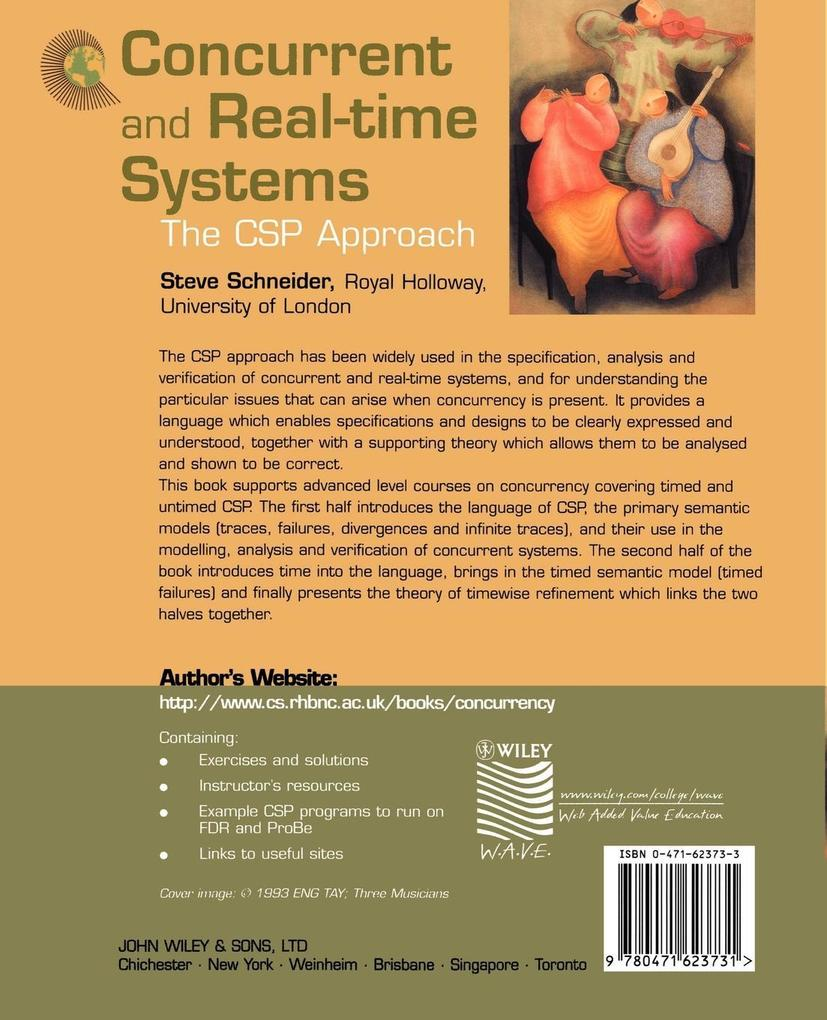 Concurrent and Real-Time Systems als Buch (kartoniert)