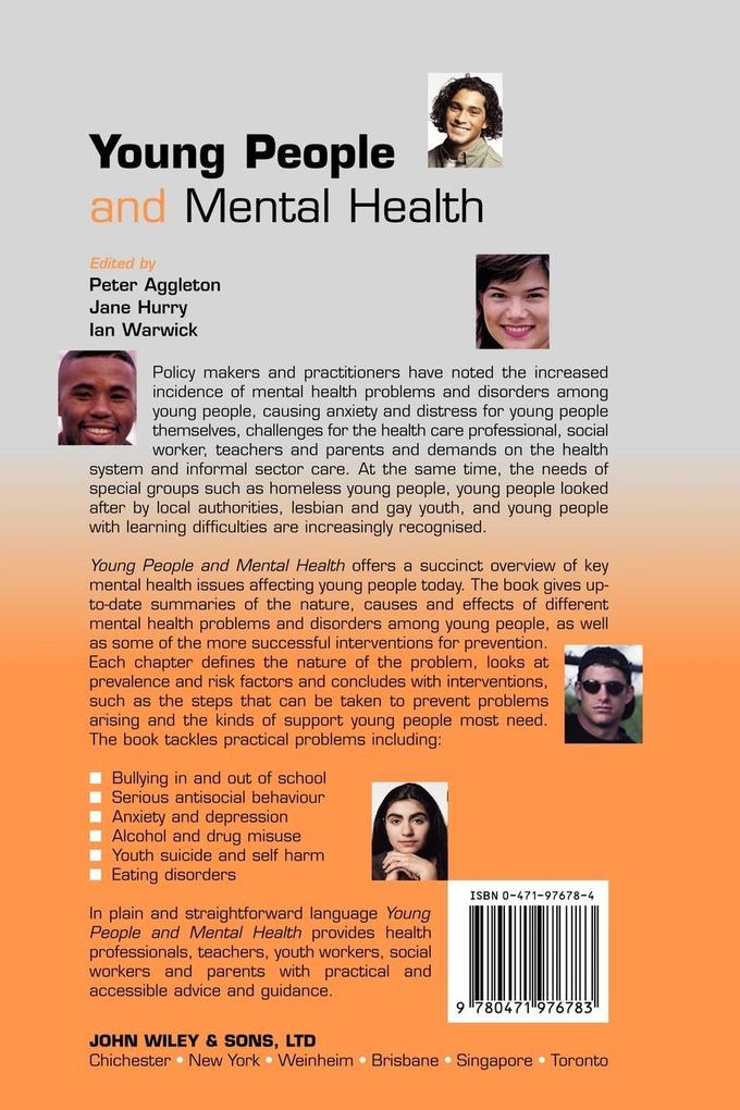 Young People  Mental Health als Buch (kartoniert)