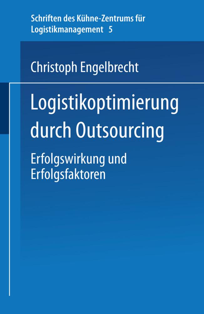 Logistikoptimierung durch Outsourcing als Buch (kartoniert)