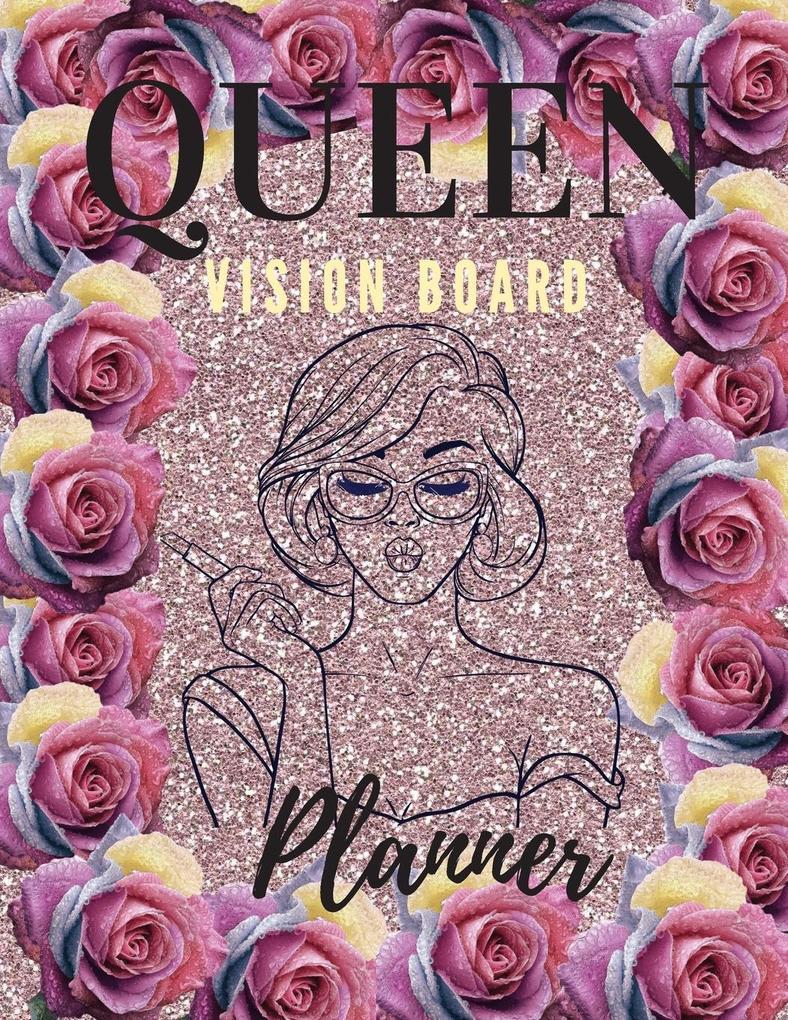 Queen Board Vision Planner als Buch (kartoniert)