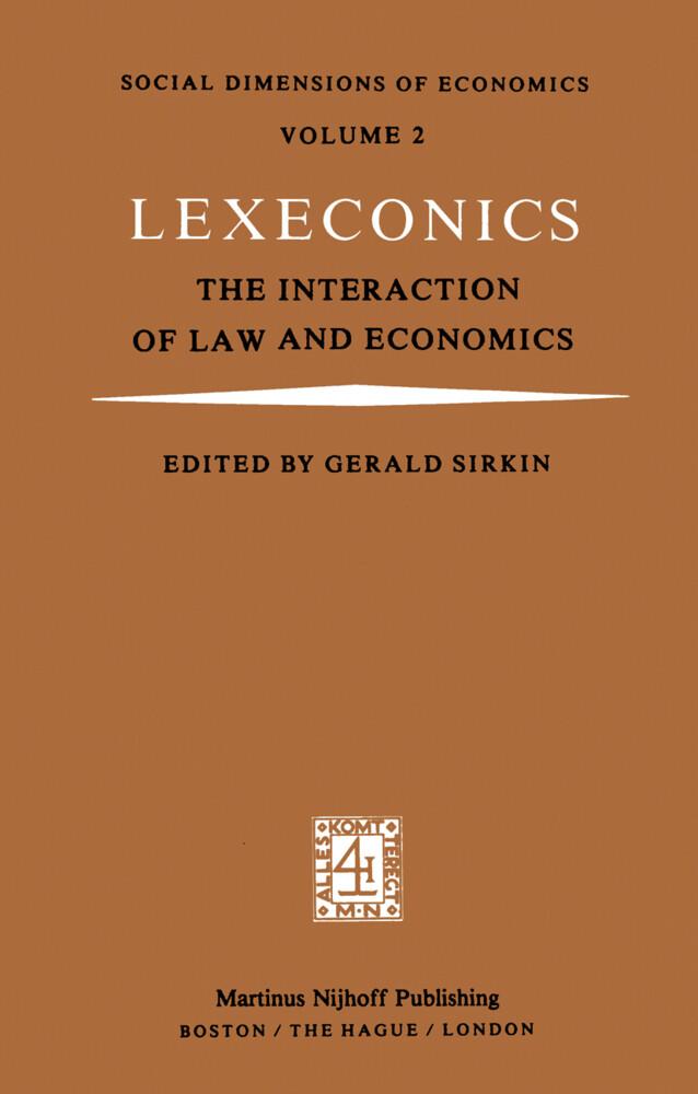 Lexeconics als Buch (gebunden)