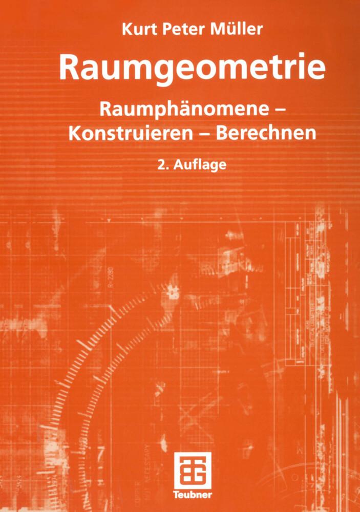 Raumgeometrie als Buch (kartoniert)