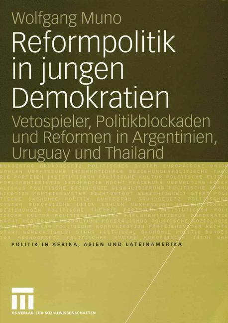 Reformpolitik in jungen Demokratien als Buch (kartoniert)