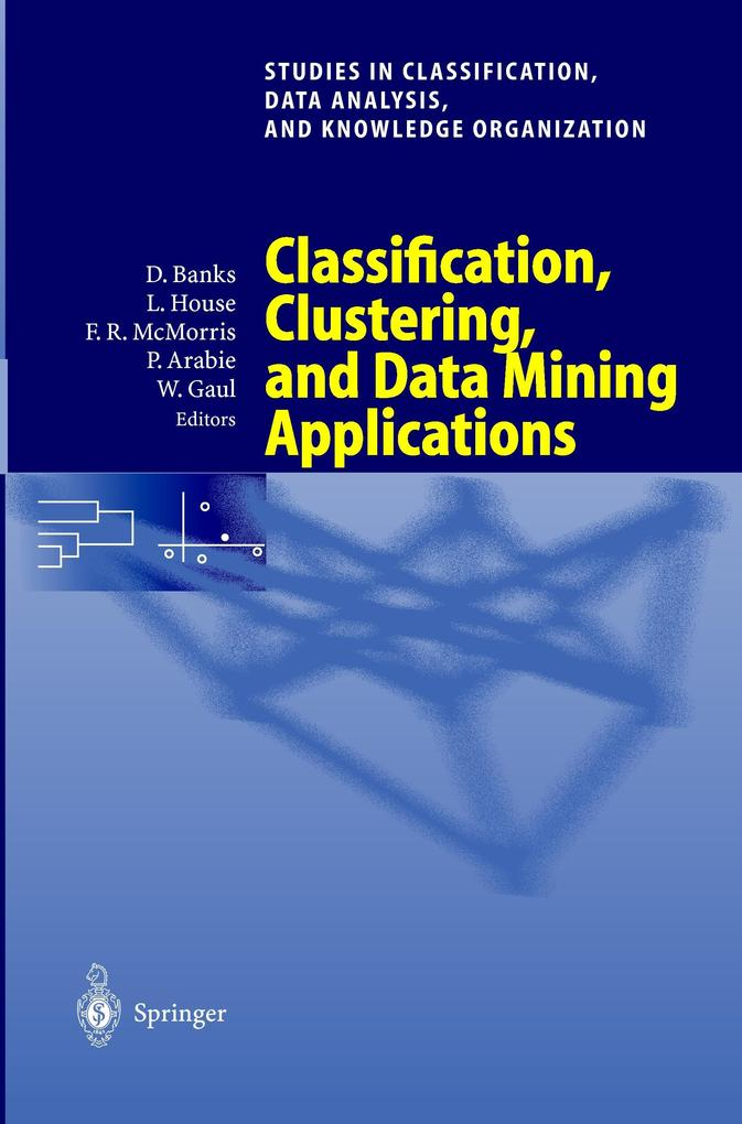 Classification, Clustering, and Data Mining Applications als Buch (kartoniert)