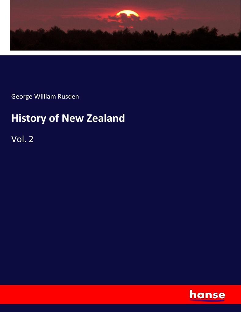 History of New Zealand als Buch (kartoniert)