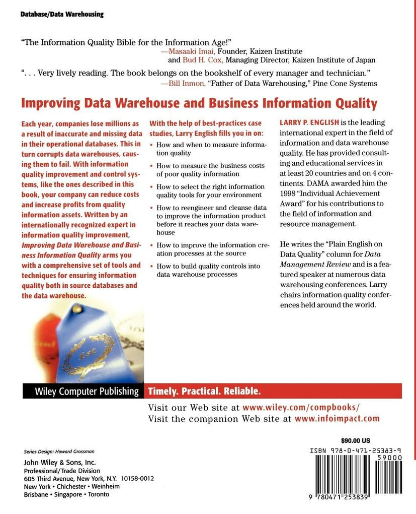 Data Warehouse Quality als Buch (kartoniert)