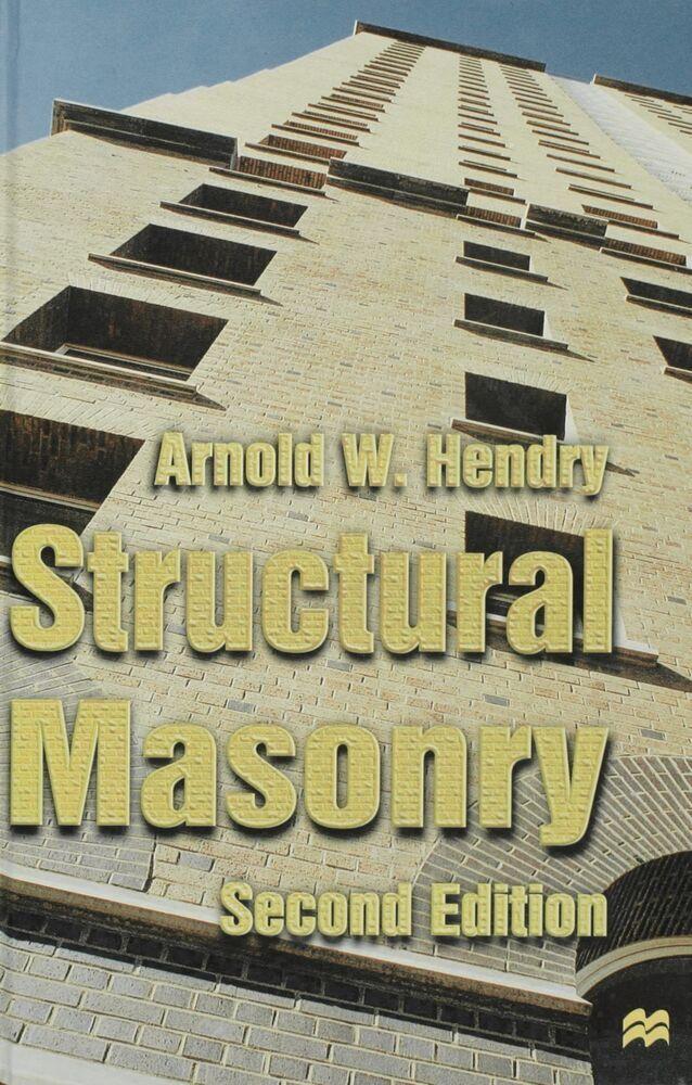 Structural Masonry als Buch (gebunden)