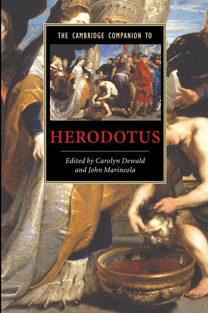 The Cambridge Companion to Herodotus als Buch (kartoniert)