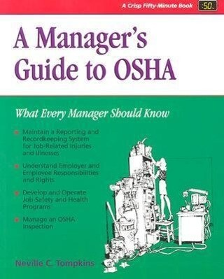 A Manager's Guide to OSHA als Taschenbuch