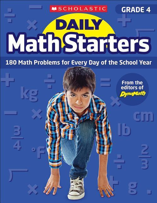 Daily Math Starters: Grade 4: 180 Math Problems for Every Day of the School Year als Taschenbuch