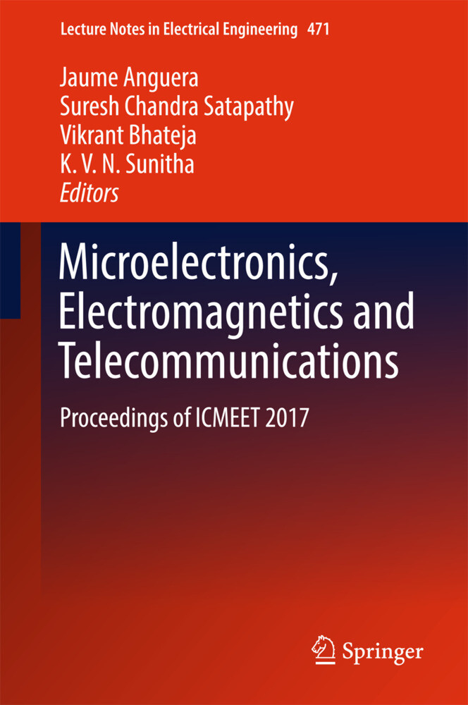 Microelectronics, Electromagnetics and Telecommunications als Buch (gebunden)