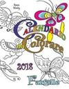 Calendario da Colorare 2018 Farfalle