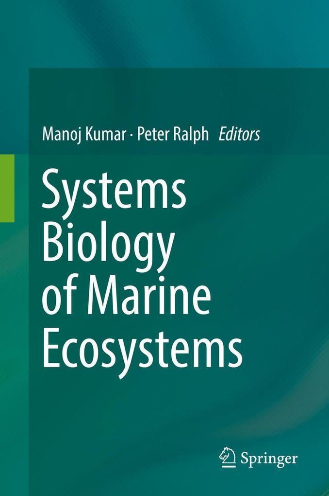 Systems Biology of Marine Ecosystems als eBook pdf