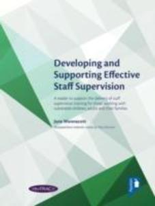 Developing and Supporting Effective Staff Supervision handbook als Taschenbuch