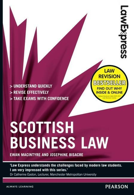 Law Express: Scottish Business Law (Revision guide) als Taschenbuch