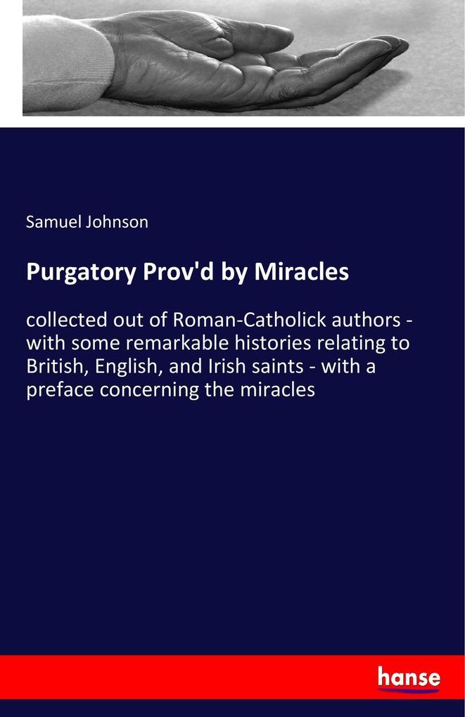 Purgatory Prov'd by Miracles als Buch (kartoniert)