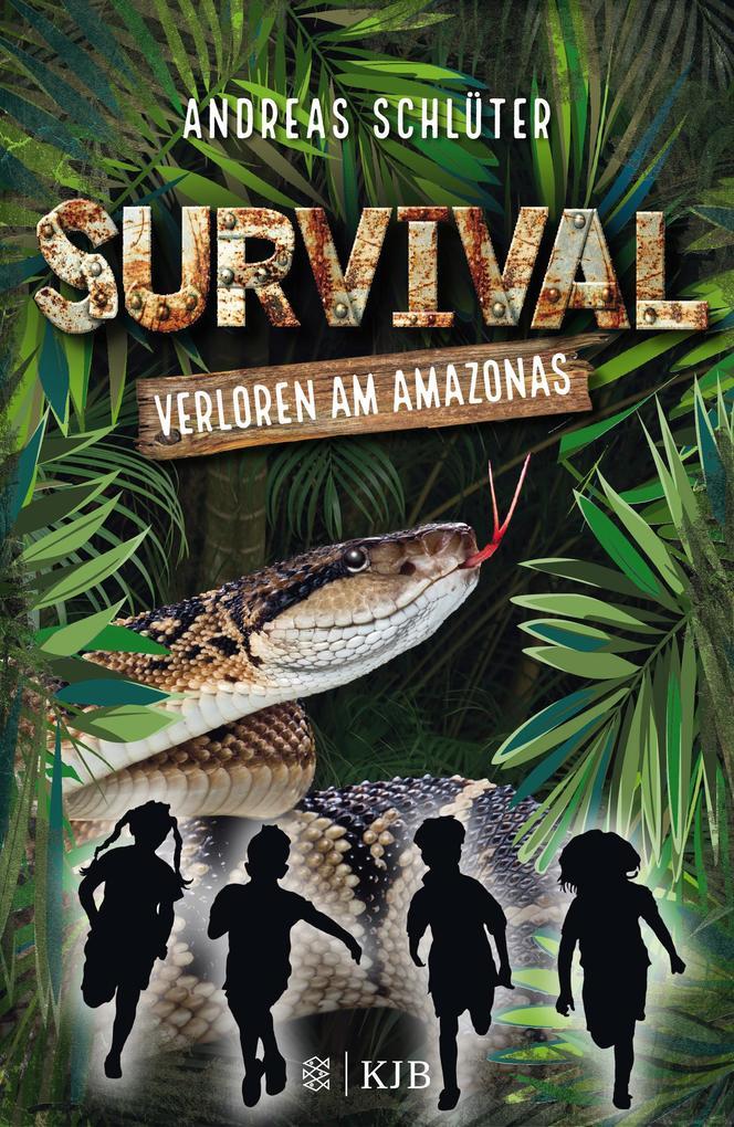 Survival 1 - Verloren am Amazonas als Buch