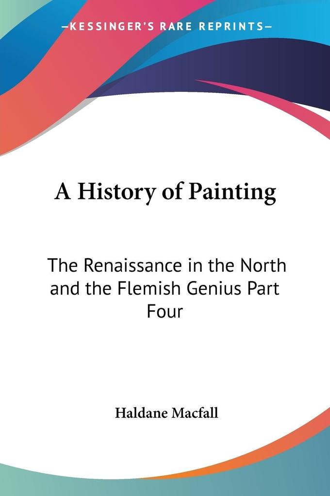 A History of Painting als Taschenbuch