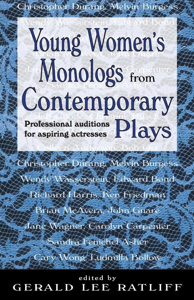 Young Women's Monologues from Contemporary Plays als Taschenbuch