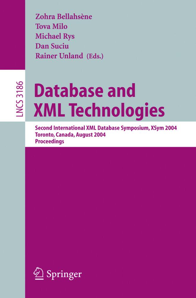 Database and XML Technologies als Buch (kartoniert)