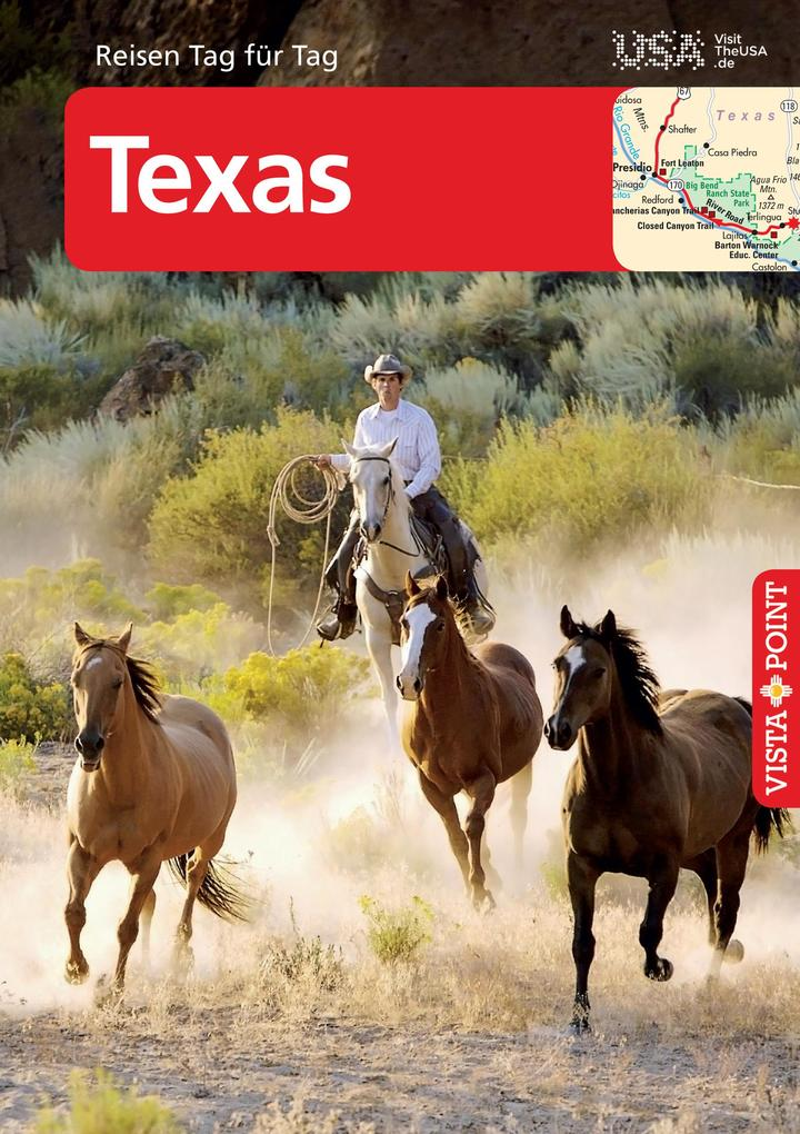 Texas - VISTA POINT Reiseführer Reisen Tag für Tag als eBook epub