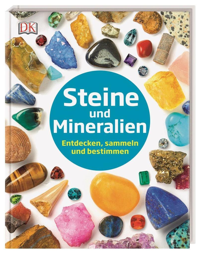 Steine und Mineralien als Buch (gebunden)