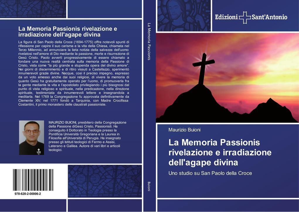 La Memoria Passionis rivelazione e irradiazione dell'agape divina als Buch (kartoniert)