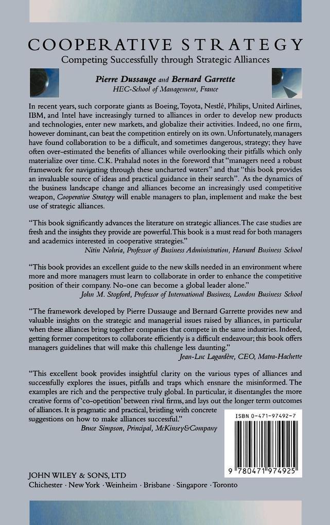 Cooperative Strategy als Buch (gebunden)
