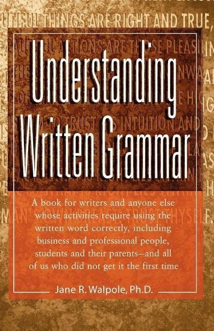 Understanding Written Grammar als Taschenbuch