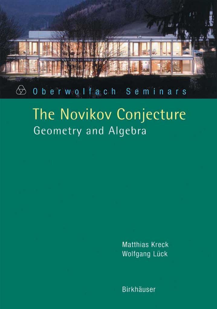 The Novikov Conjecture als Buch (kartoniert)