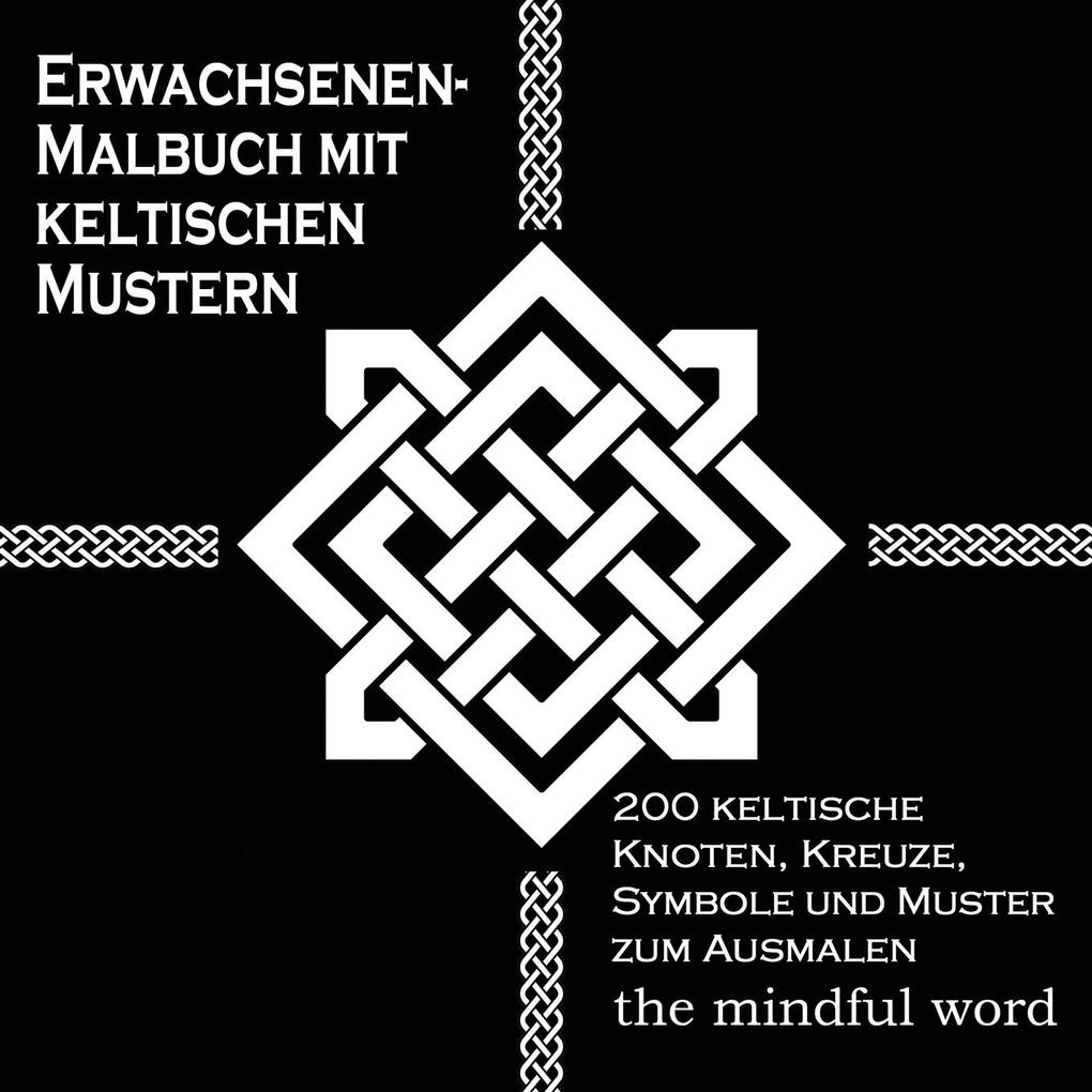 Erwachsenen-Malbuch mit keltischen Mustern als Buch (kartoniert)