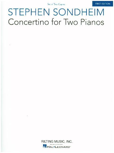 Concertino for Two Pianos: Set of Two Copies als Taschenbuch