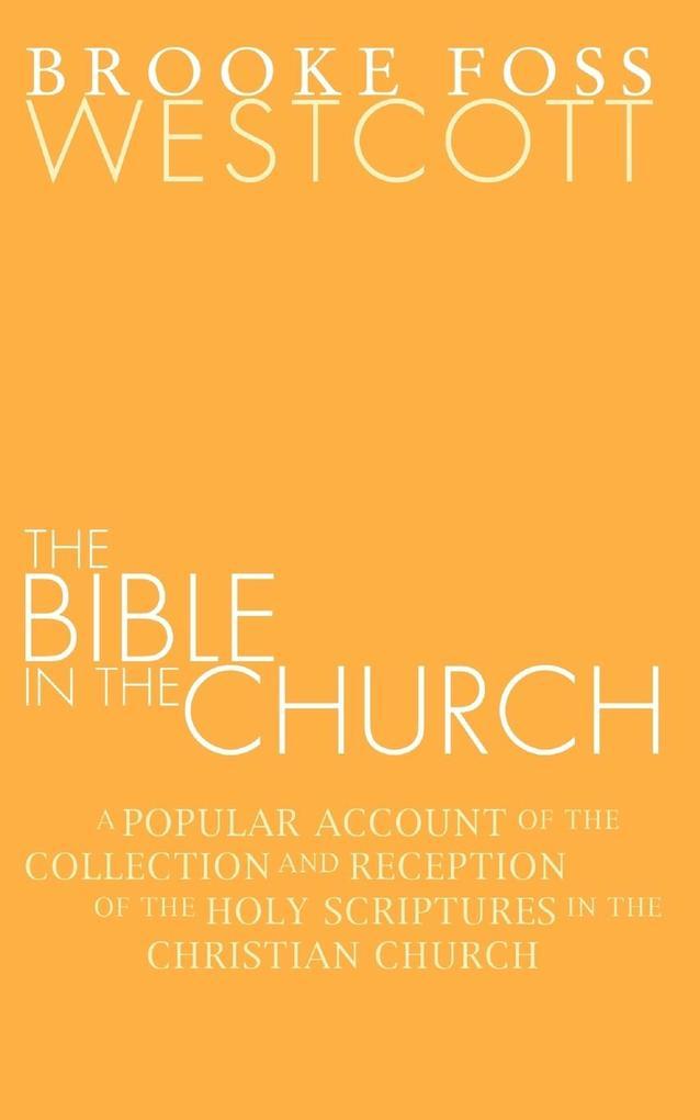 Bible in the Church als Taschenbuch