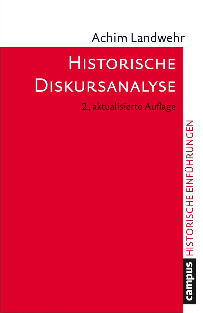 Historische Diskursanalyse als Buch (kartoniert)