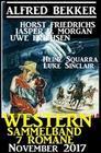 Western Sammelband 7 Romane November 2017