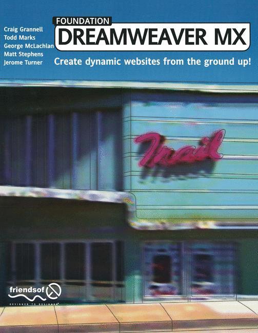 Foundation Dreamweaver MX als Buch (kartoniert)