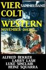 Sammelband: Vier Colt Western November 2017