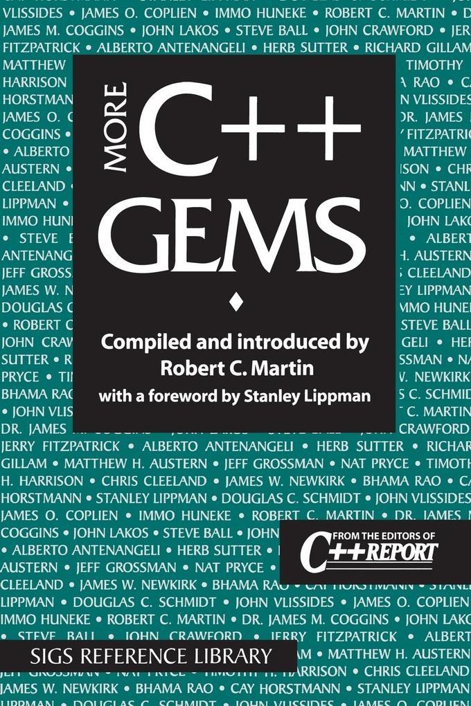More C++ Gems als Taschenbuch