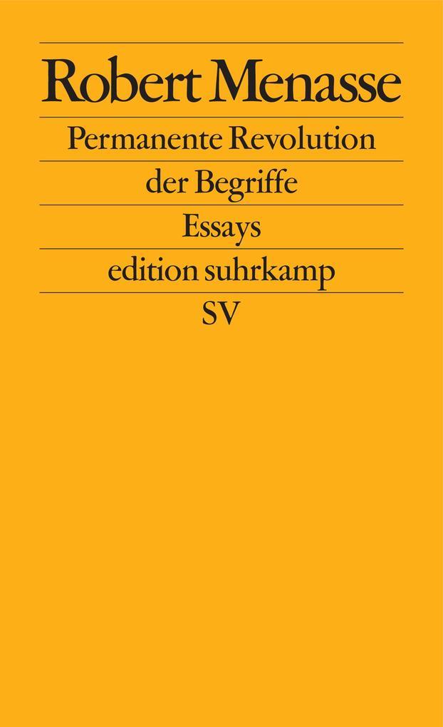 Permanente Revolution der Begriffe als eBook epub