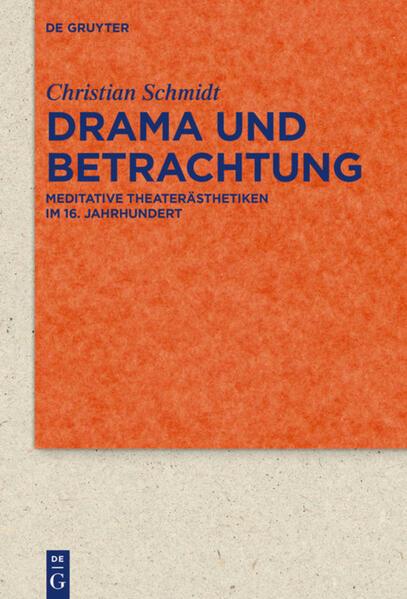 Drama und Betrachtung als Buch (gebunden)