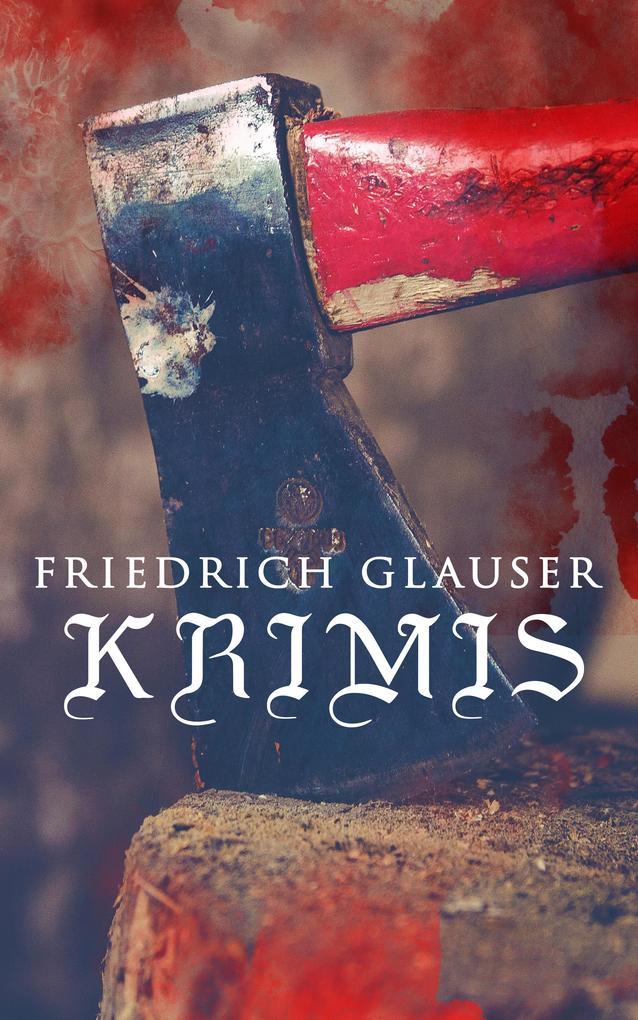 Friedrich Glauser-Krimis als eBook epub