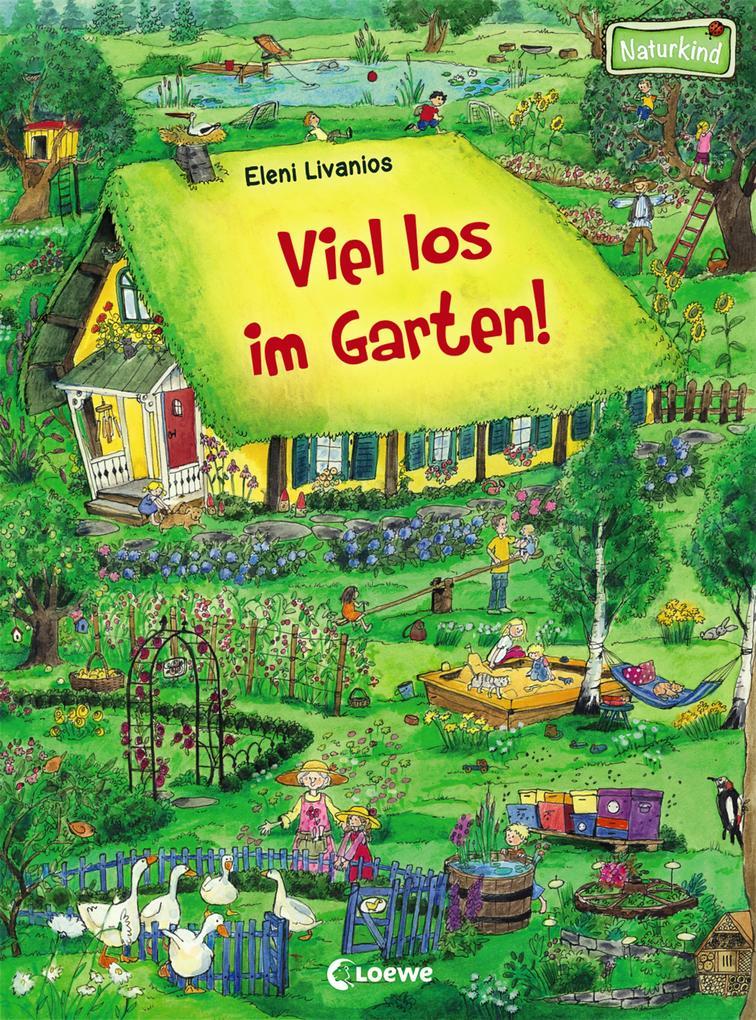 Viel los im Garten! als Buch (kartoniert)
