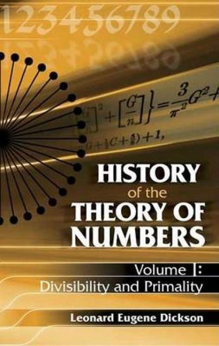 History of the Theory of Numbers als Taschenbuch