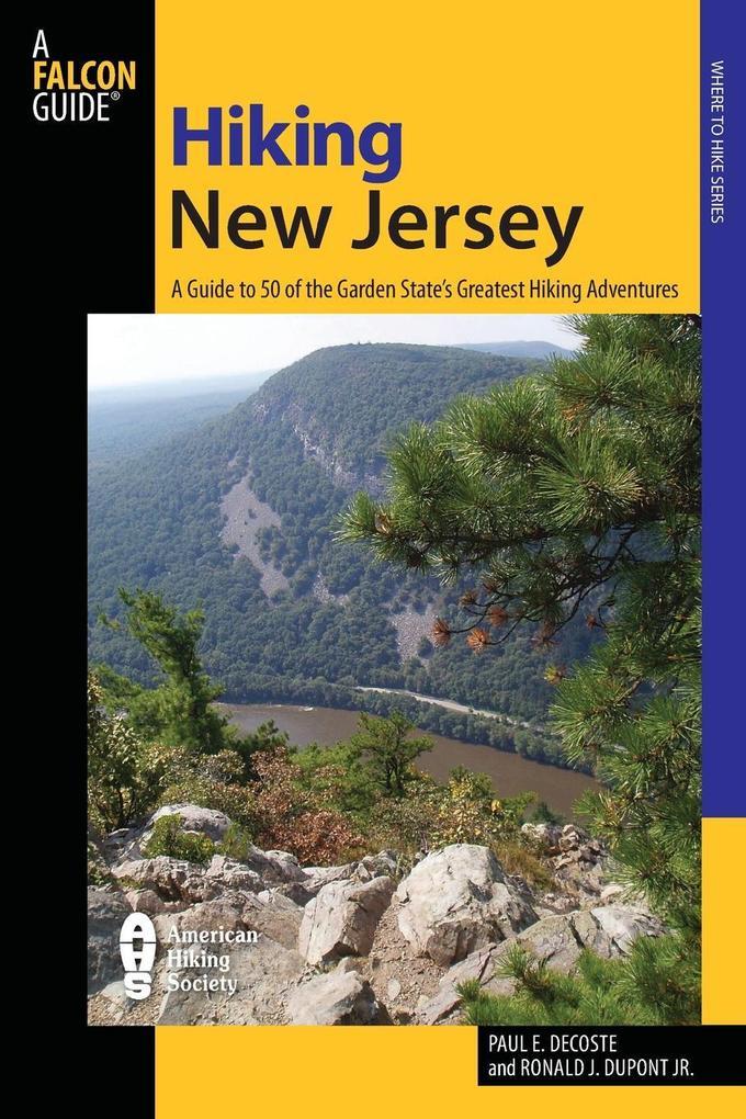 Hiking New Jersey als Taschenbuch
